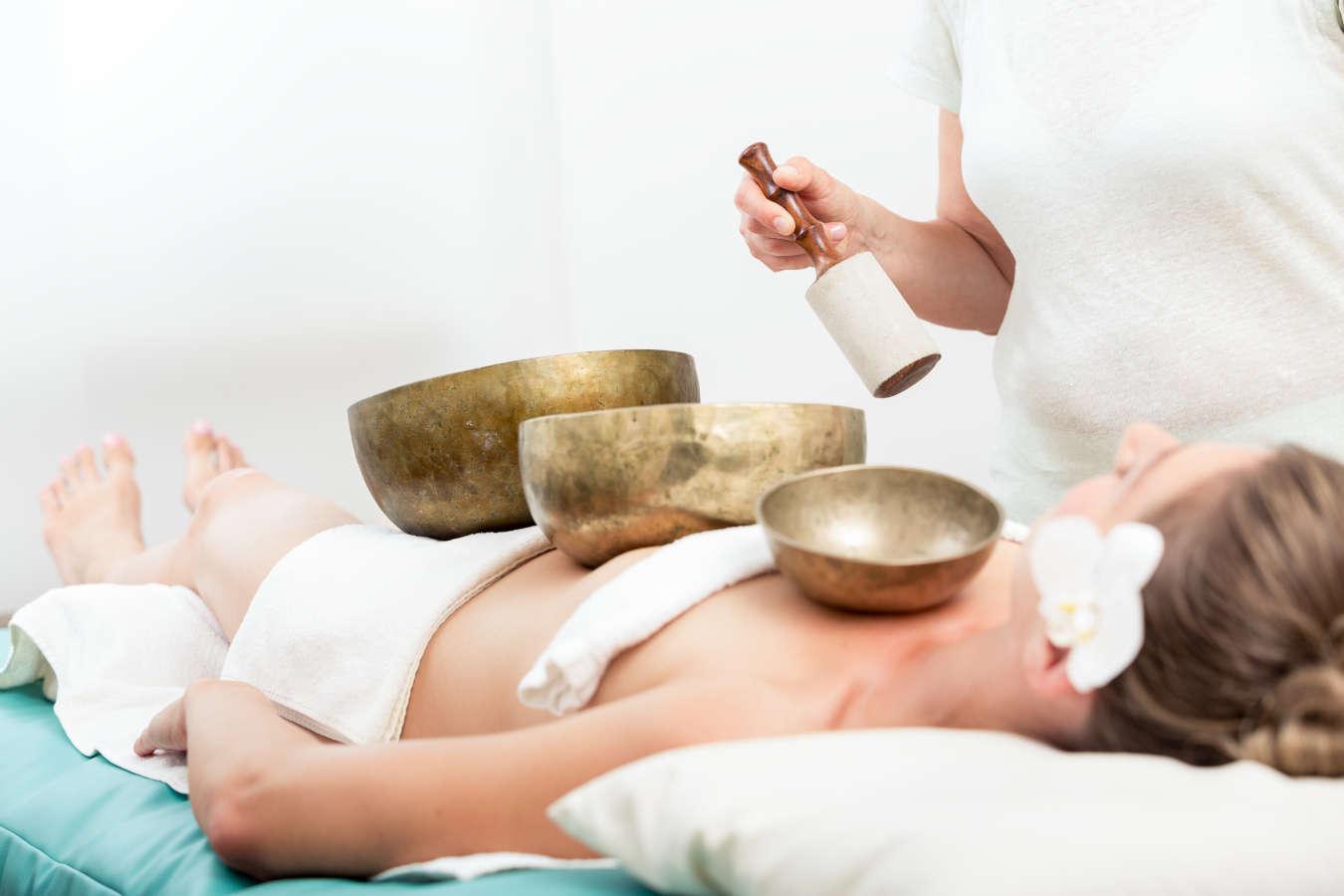 Tibetietiškų dubenų masažas