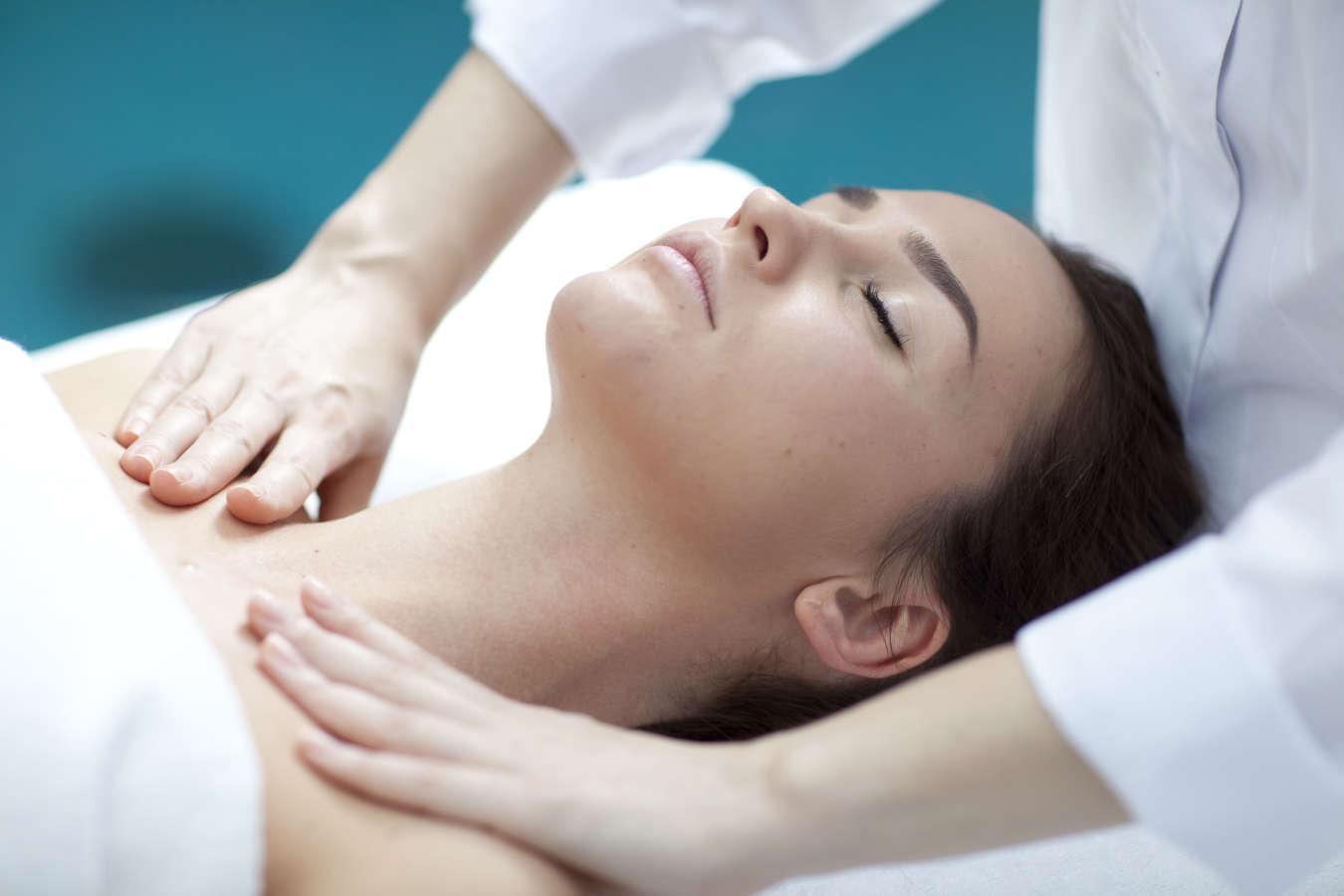 Žandikaulio masažas